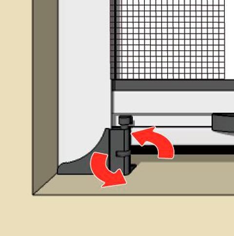 paso seis instalacion mosquitera enrollable