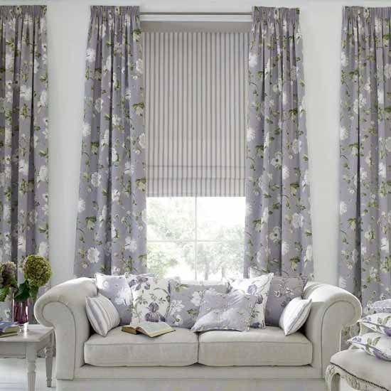 Cortinas fruncidas cortinas manzanodecora - Cortinas de moda para salon ...