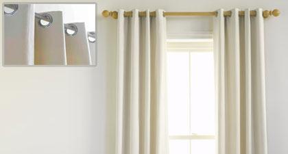 Cortinas ollaos cortinas manzanodecora for Cortinas salon beige
