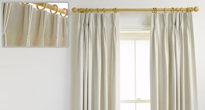 Cortinas Triple Pliegue
