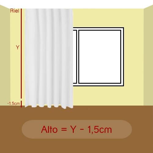 alto de la cortina