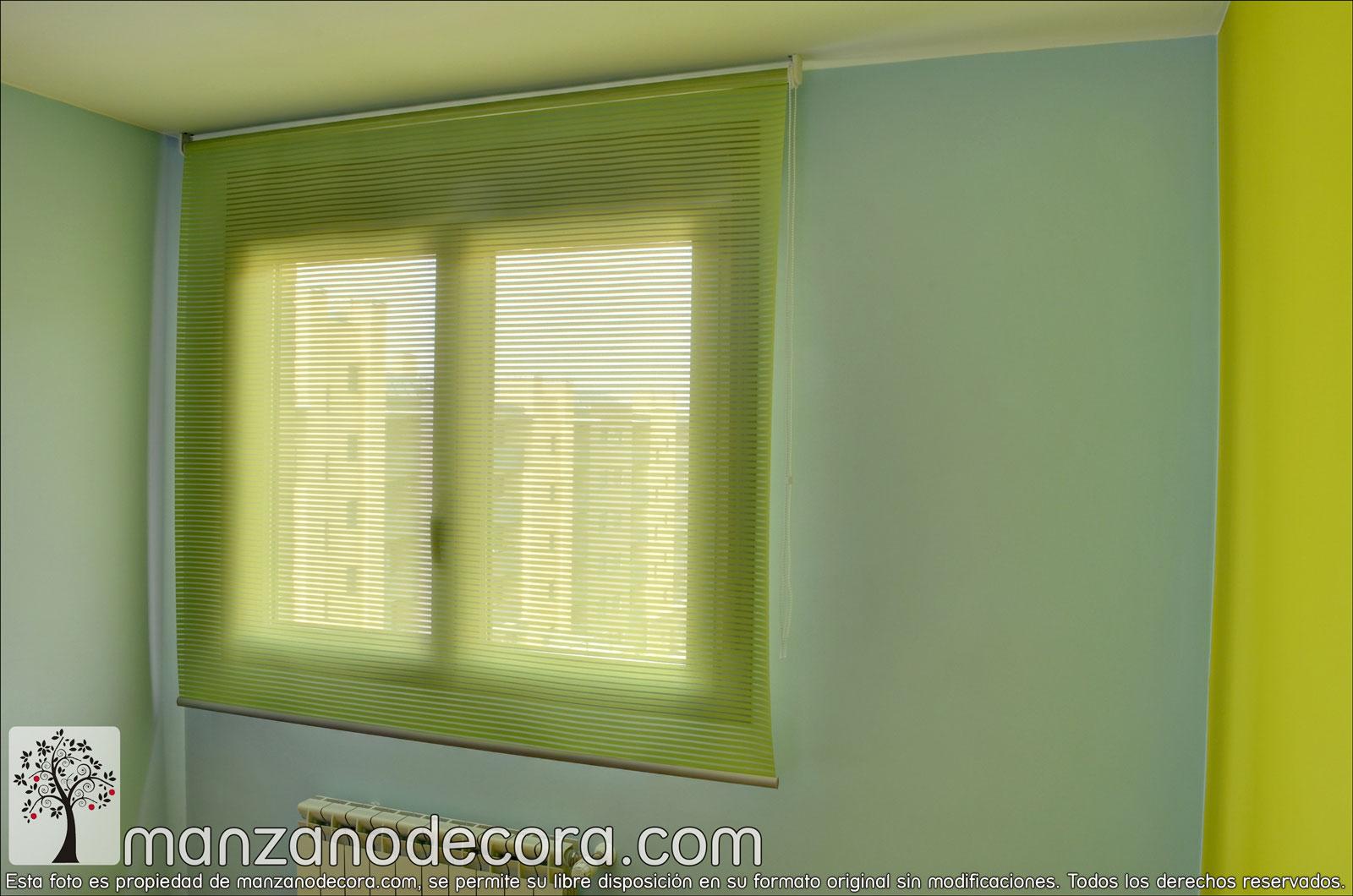 Estores cortinas manzanodecora - Fotos de estores ...