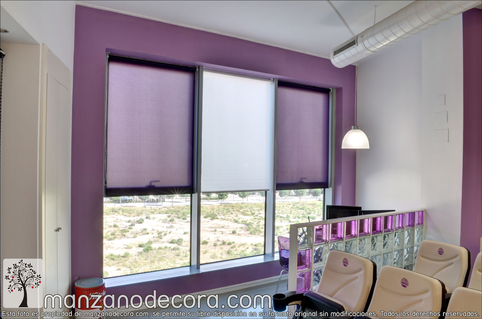 Estores enrollables cortinas manzanodecora - Cortinas estores enrollables ...