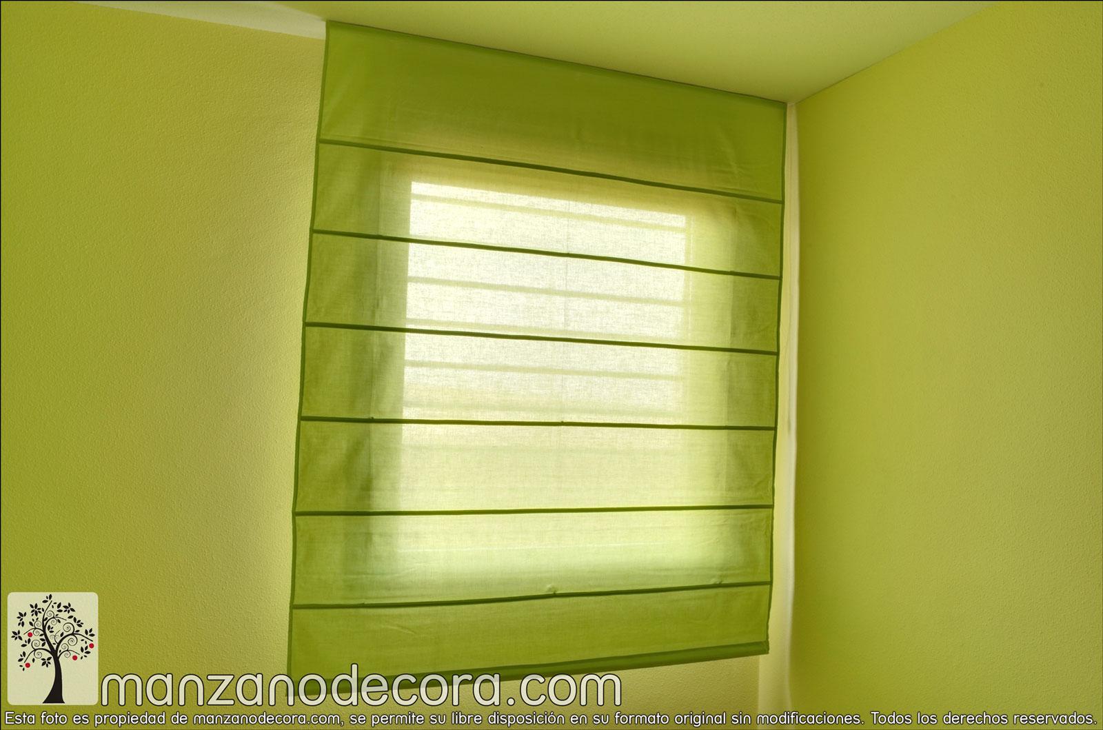 Estores cortinas manzanodecora - Estores de varillas ...