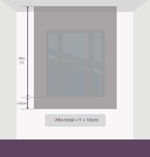 Medición-estor-altura-techo
