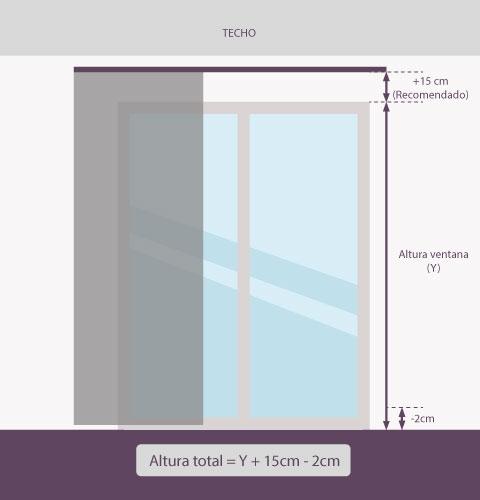 Medición-panel-japonés-altura-pared