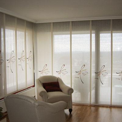 Paneles japoneses cortinas manzanodecora - Estores y paneles japoneses ...
