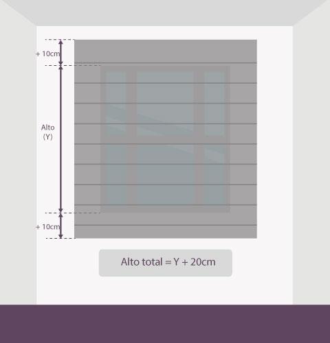 Medición-persiana-veneciana-aluminio-altura-pared