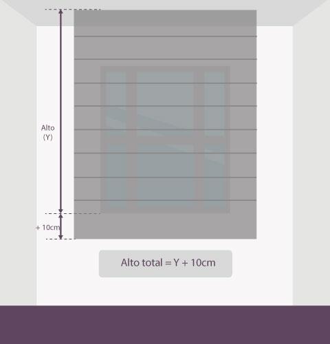 Medición-persiana-veneciana-aluminio-altura-techo