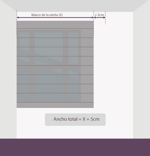 Medición-persiana-veneciana-aluminio-anchura-pared