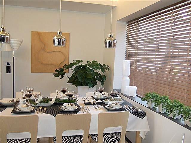 Persianas venecianas de madera cortinas manzanodecora - Cortinas venecianas madera ...