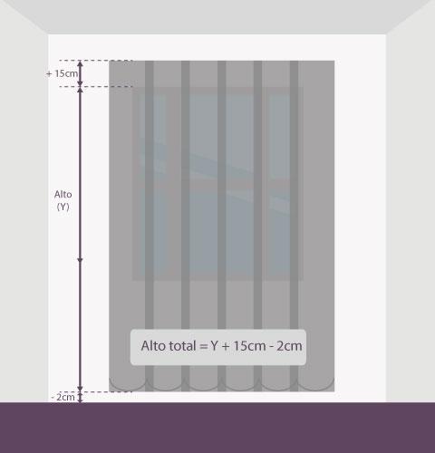 Medición-vertical-de-tejido-altura-pared